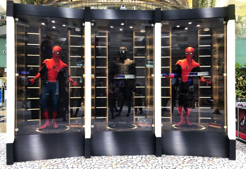 Changi Airport T3 Spider-Man Far From Home