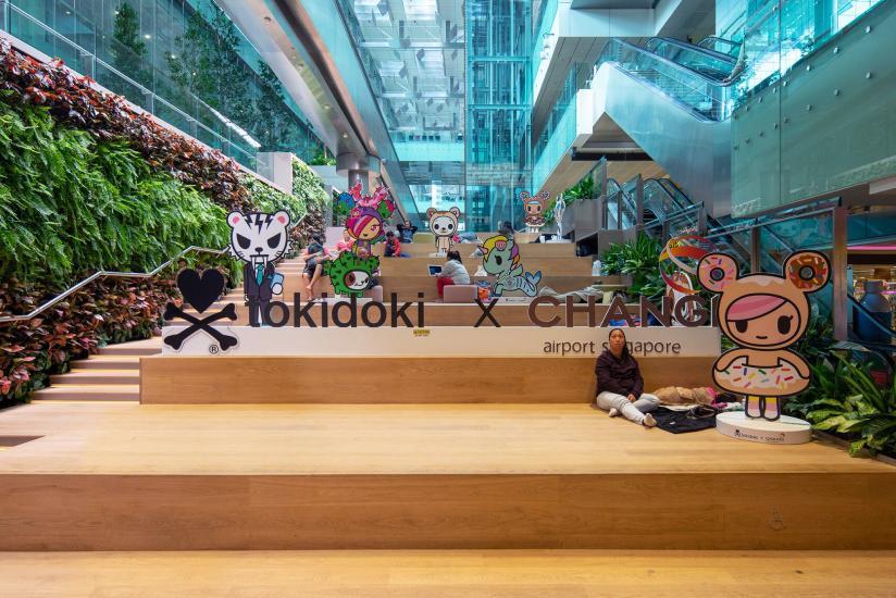 Changi Airport T3 TokiDoki