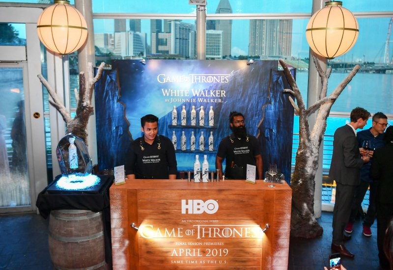 HBO x GOT Logistic Delivery Installation